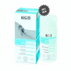 eco cosmetics Sonnenlotion NEUTRAL LSF 20 – Ohne Parfum 100ml