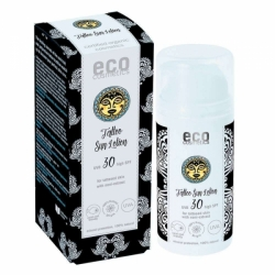 eco cosmetics Tattoo Sonnenlotion LSF 30  100ml