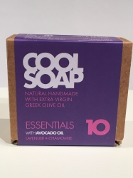 The Cool Projects Seife Essentials 10 Lavender & Chamomile 90g mit 4 Ölen