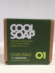 The Cool Projects Seife Essentials 01 Eukalyptus & Lavendel 90g