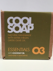 The Cool Projects Seife Essentials 03 Lavender & Tangerine 90g