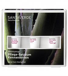 SANTAVERDE Pflegeset Aloe Vera 3x15ml