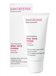 SANTAVERDE aloe vera creme medium ohne duft 30ml