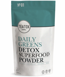 TEATOX Daily greens detox superfood powder 120g