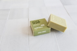 The Cool Projects Seife Elements 02 Lavender & Green Clay 115g