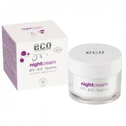 eco cosmetics Nachtcreme mit OPC, Q10 und Hyaluron 60ml