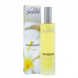 Farfalla Frangipani natural eau de cologne 50ml